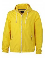 James & Nicholson Férfi Sárga színű Vitorlás Kabát