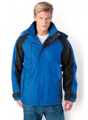Kék vízhatlan dzseki