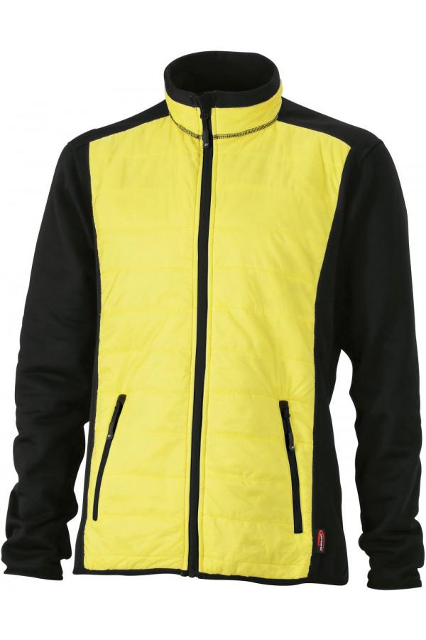 James & Nicholson sárga színű férfi dzseki