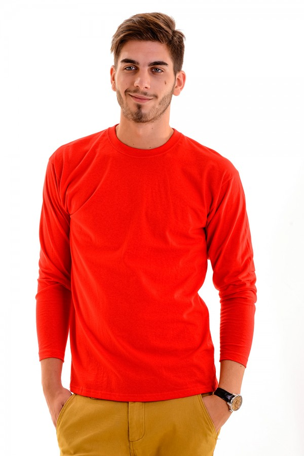 f1aca480df Taboo Hungary - Piros hosszú ujjú póló -Valueweight