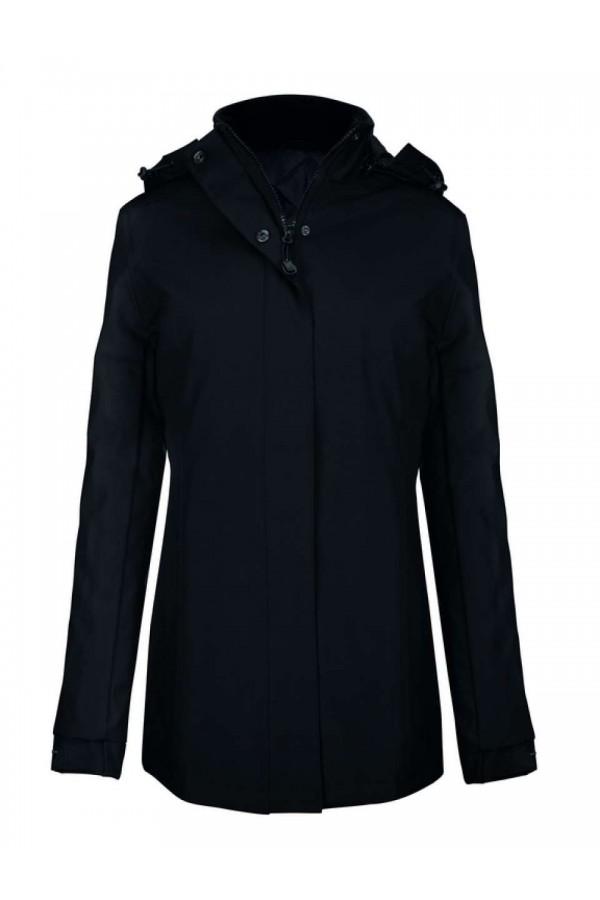 Fekete Női kabát