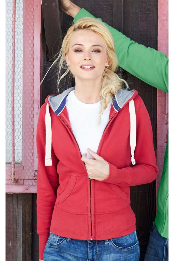 Vintage Női kapucnis pulóver