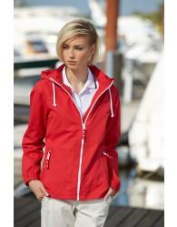 James & Nicholson Női Piros színű Vitorlás Kabát