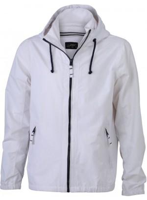 James & Nicholson Férfi Fehér színű Vitorlás Kabát