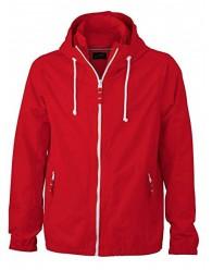 James & Nicholson Férfi Piros színű Vitorlás Kabát