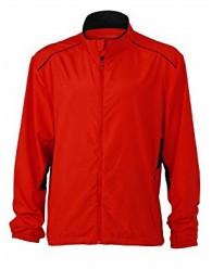 James & Nicholson piros színű férfi dzseki