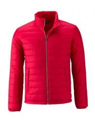 James & Nicholson piros színű Férfi bélelt dzseki
