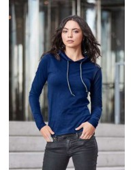 Női  Hosszú Ujjú Kapucnis Pólók